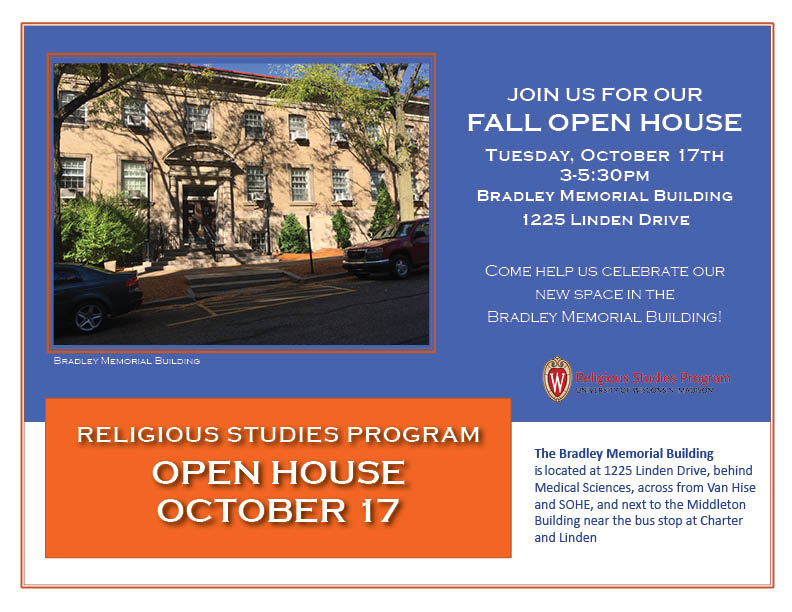 RS Program Open House poster