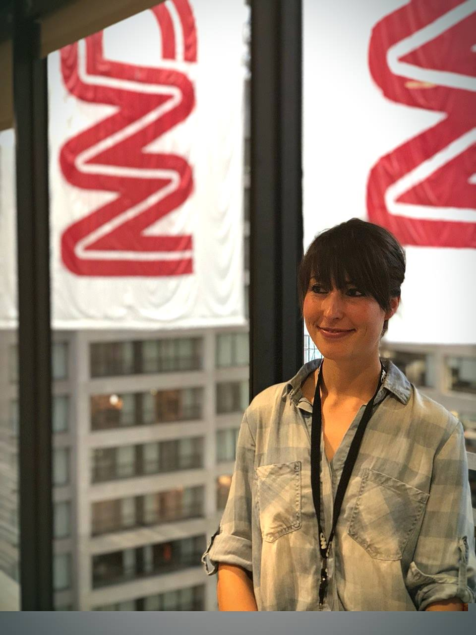 RS alumnus Alison Hyde at CNN